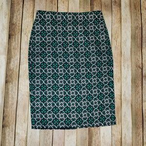 JCrew Knee Length Pencil Skirt fully lined